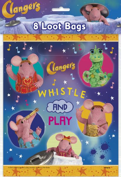 Clangers Loot Bags (8)